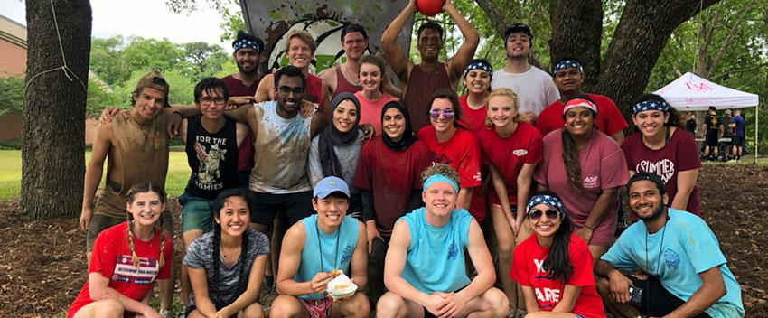AED members participating in Oozeball, a South Alabama tradition!