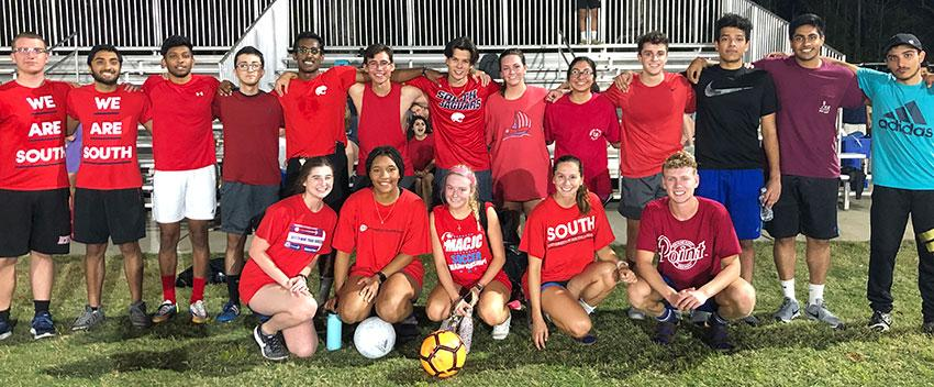 The AED Intramural soccer team made the first round of playoffs!