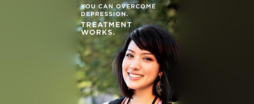 You can overcome depression. Treatment Works.