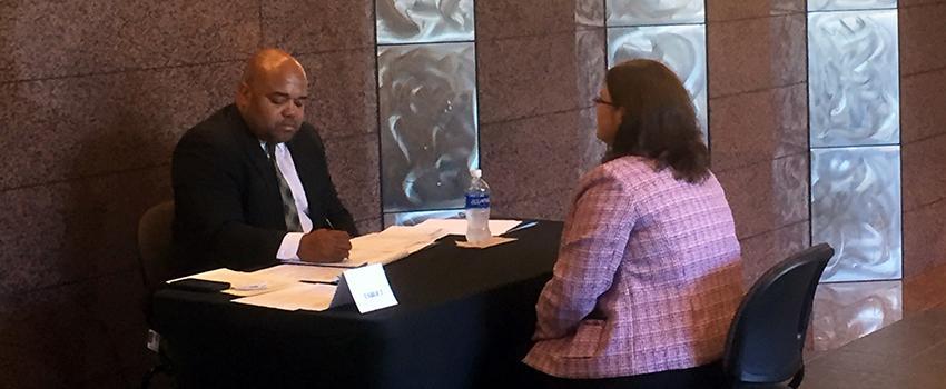 William Jamar, State of Alabama Revenue Department, Mock Interview