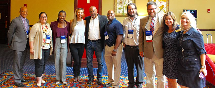 Southeast Regional Noyce Connection conference participants