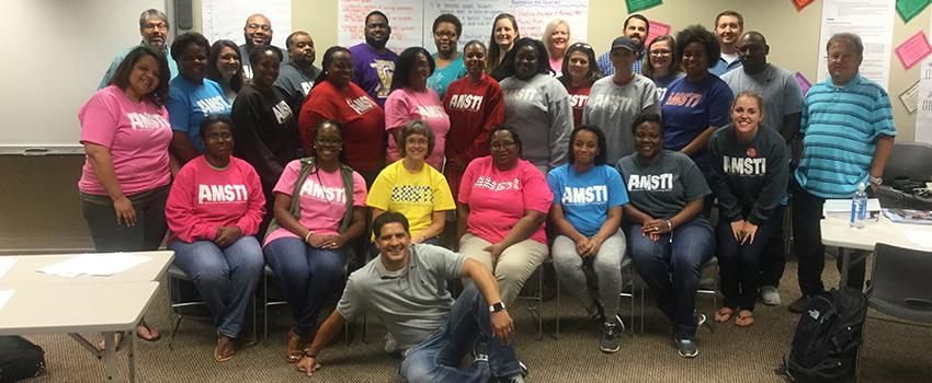 AMSTI-focused on Middle School Mathematics Teachers Program participants
