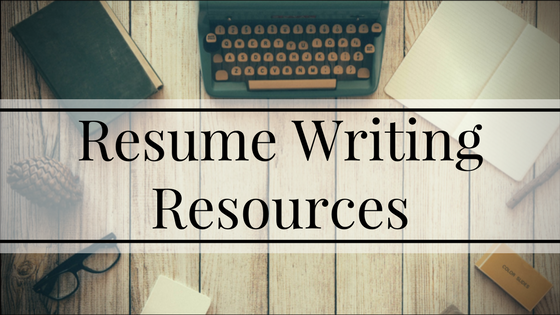 Helpful resources for crafting and refining your resume.