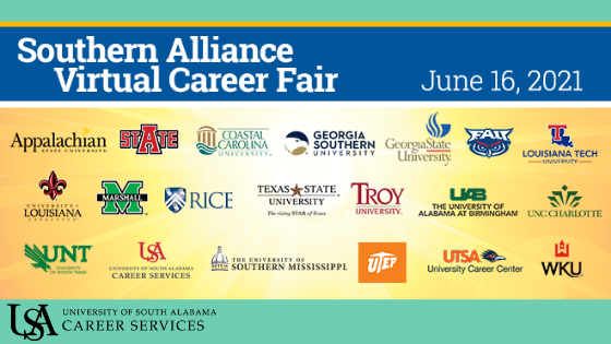 Easily meet employers at the Virtual Career Fair on Wednesday, June 16th from 11 am - 4pm central time.
