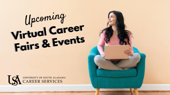Attend one or more of our upcoming virtual career fairs and events.