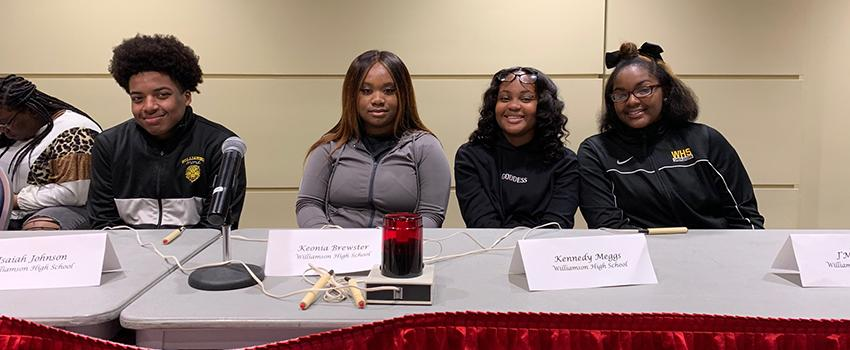 MCPSS students participate in annual Scholars Bowl at the Student Center Ballroom
