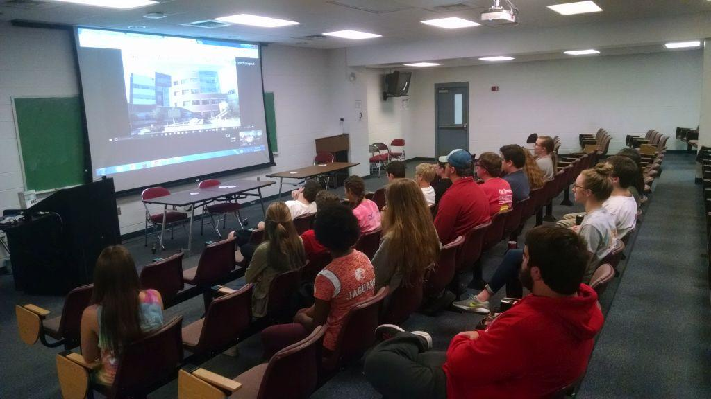 The club's second Weather Wednesday, with Jared Guyer from the Storm Prediction Center in Norman, OK on a google hangout.