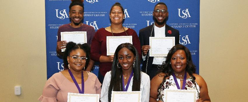 OMSA Students receiving awards