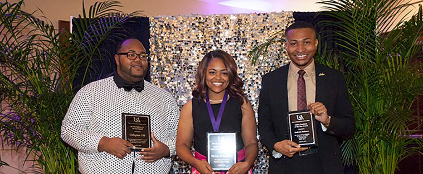 Collegiate 100 Outstanding members, Neophyte of the Year, President of the Year