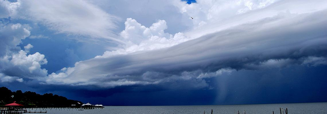 Image of sky over water