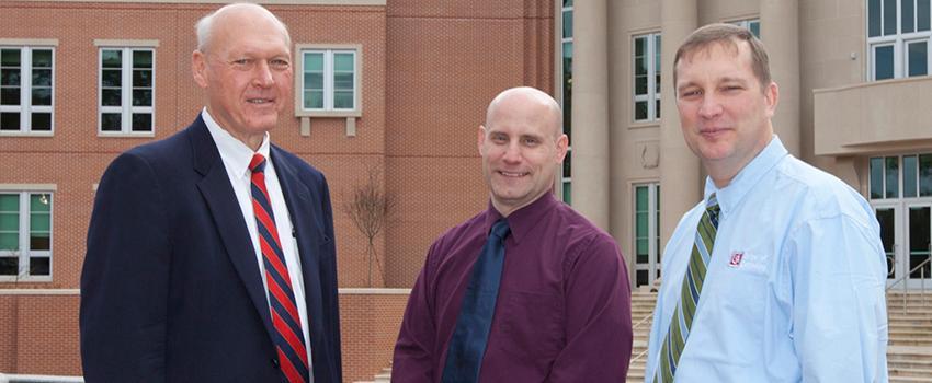 CFITS Dir. Les Barnett Dr. Todd Andel and Dr. Jeffrey (Todd) McDonald
