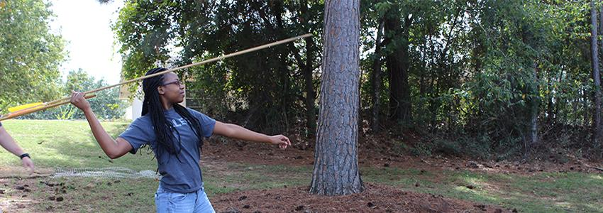 Throwing Atlatl