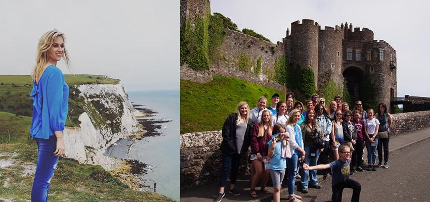 Group at Dover Castle and Hope Hill
