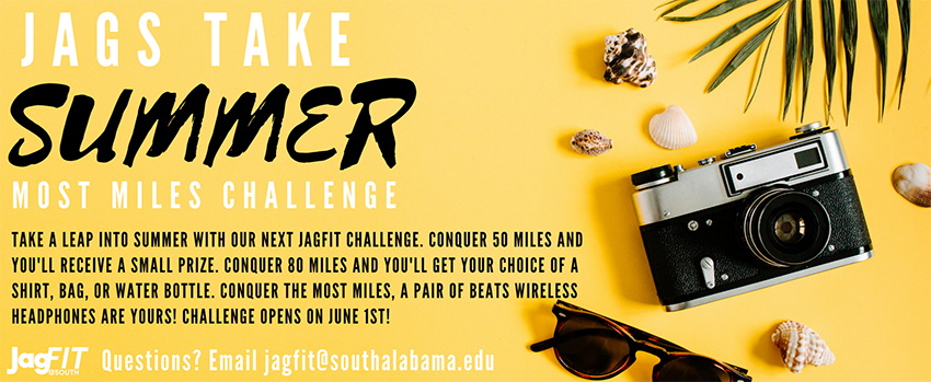Jags take Summer most miles challenge