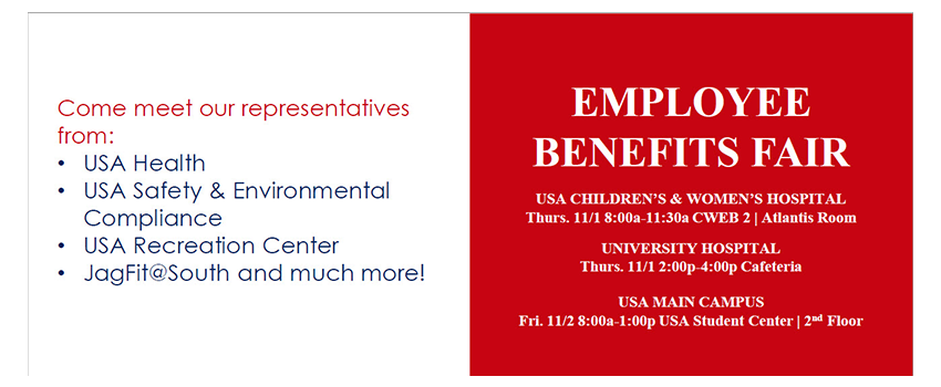 Employee Benefits Fair information