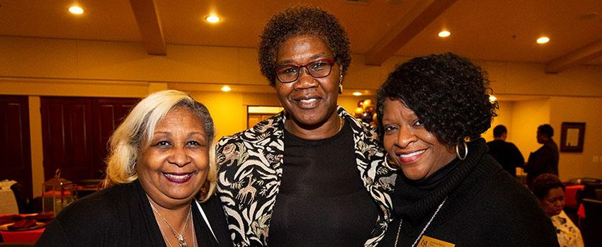 Three ladies at BFA Event