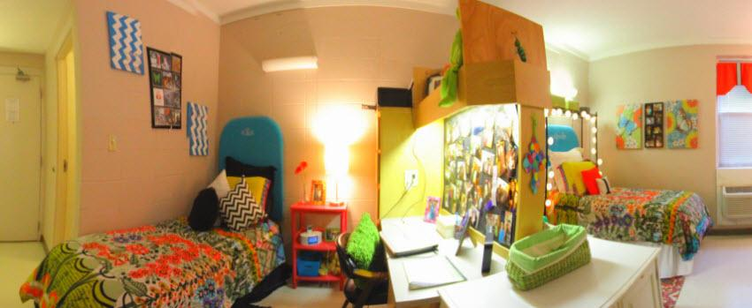 Room for two in sorority house