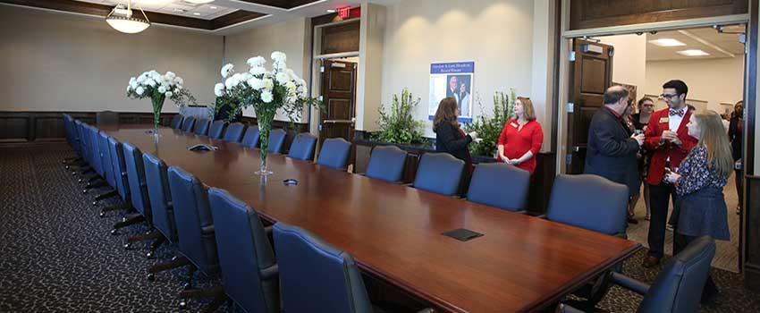 Board room of Alumni Center