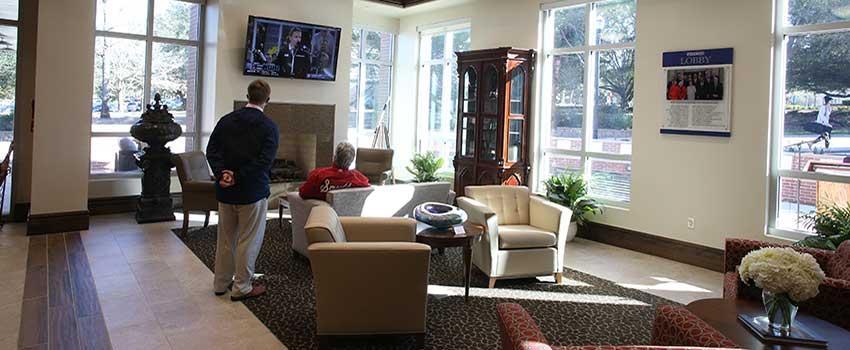 Foyer of Alumni Center