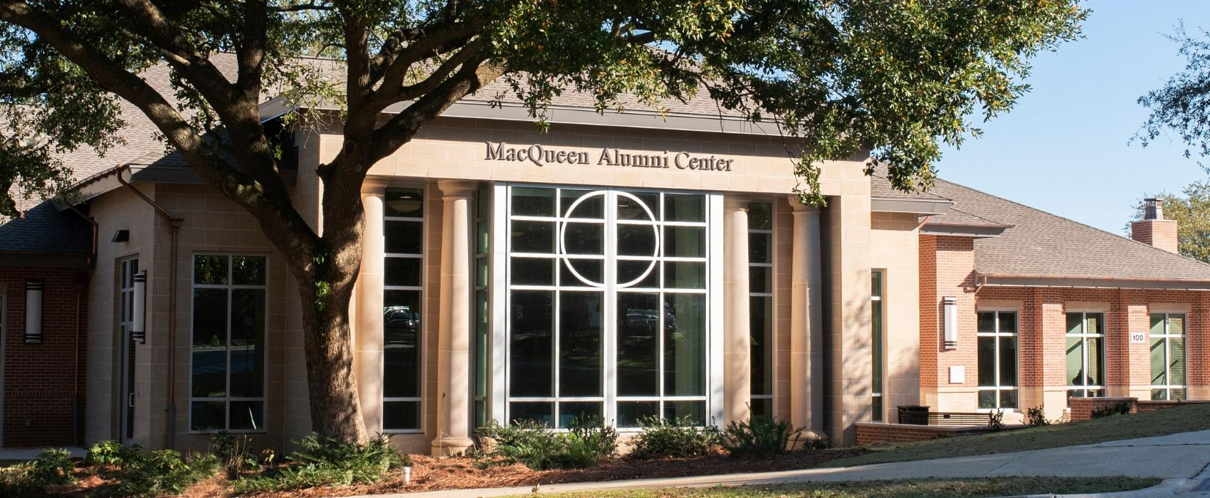 Front of MacQueen Center