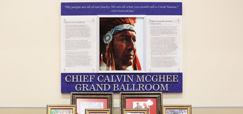 Chief Calvin McGhee Grand Ballroom image