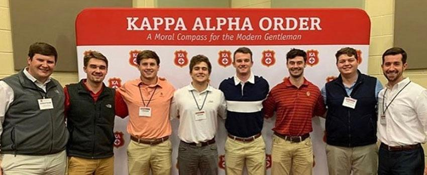 Kappa Alpha Order Group Image