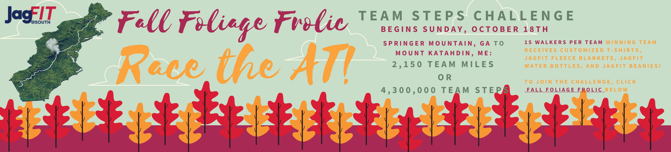 Fall Foliage Frolic Begins October 18th