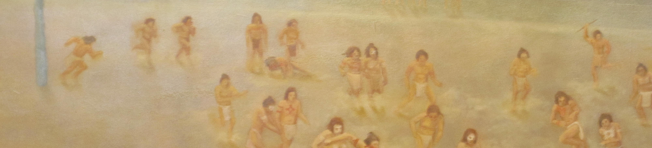 Painting of Indians.