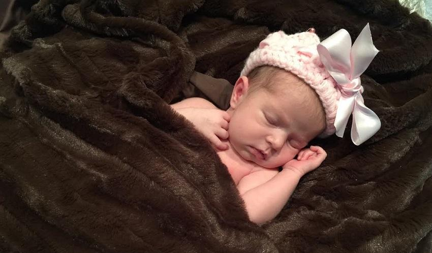 Baby Jag: June 16th, 2015, Kamryn Mikayla Underwood was born to Nelson and Farrah Langlinais Underwood ('00).