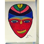 "Israel Lewis, III  ""Primitive Tribal Art"""