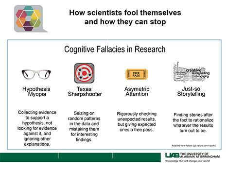 How scientists fool themselves