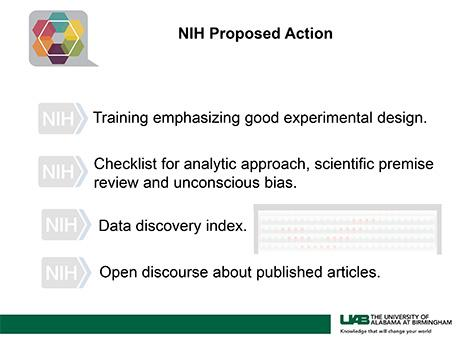 NIH Proposed Action