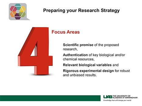 Preparing your Research Strategy