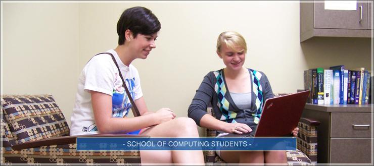 School of Computing Students