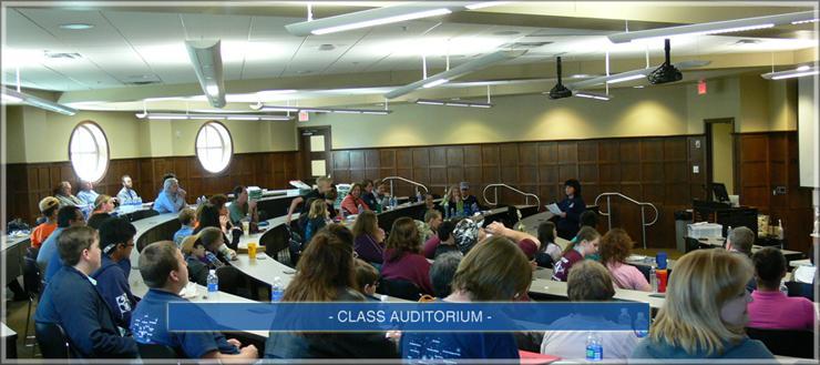 class auditorium