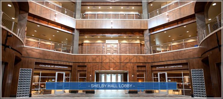 Shelby Hall Lobby