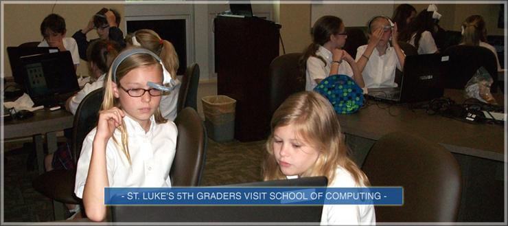 St. Lukes 5th graders