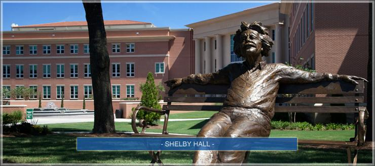 shelby hall statue
