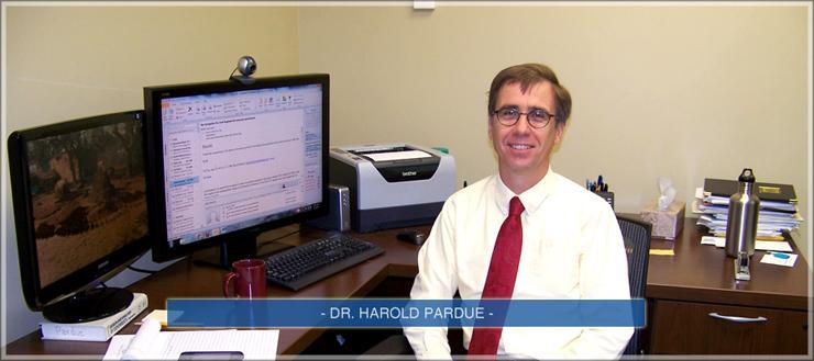 Dr. Harold Pardue