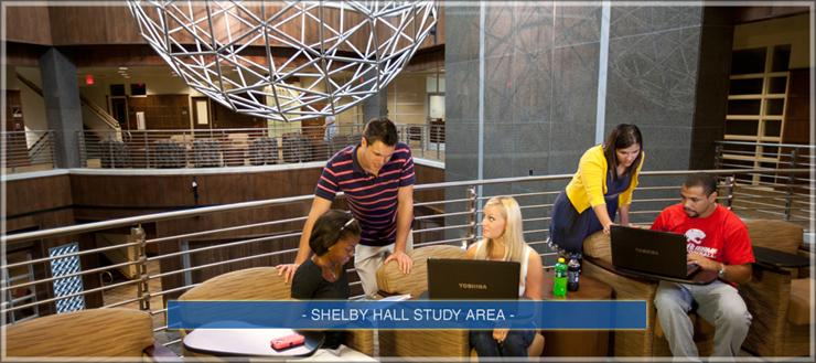 Shelby Hall Study Area