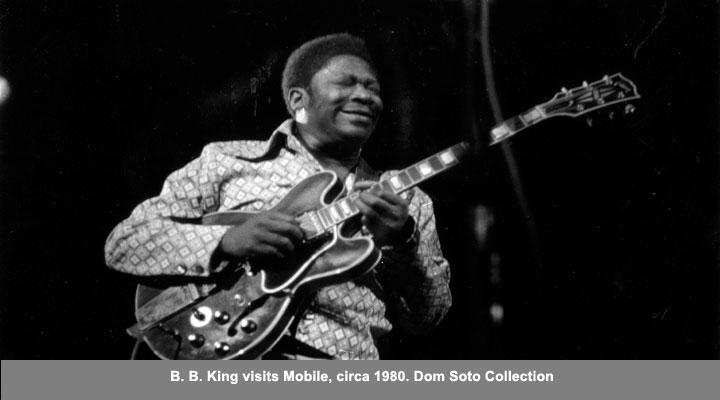 B.B. King visits Mobile, circa 1980