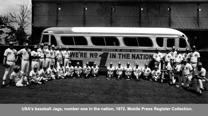 USA's baseball Jags, 1972