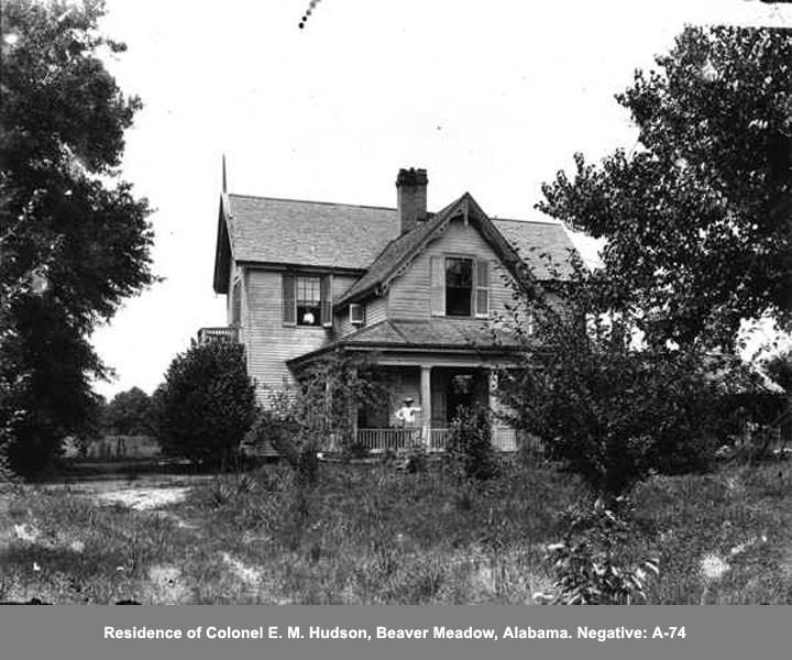 Residence of Colonel E.M Hudson