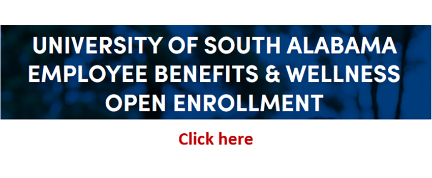 Employee Benefits & Wellness Open Enrollment linked to page with all information