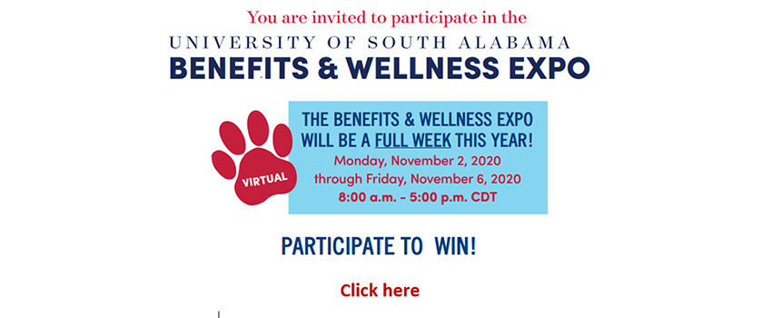 Benefits & Wellness Expo linked to page with all information