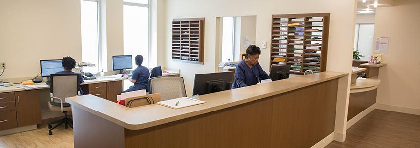 Student Health Center Front Desk