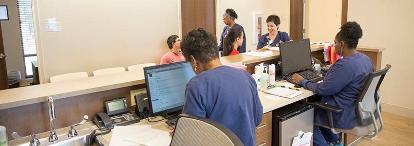 Student Health Center Nursing Station