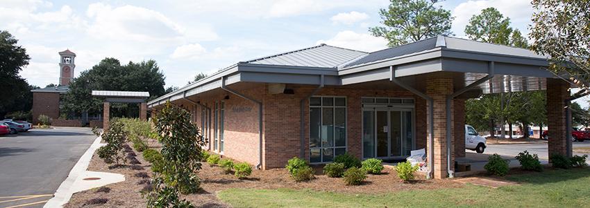 Student Health Center Side Entrance