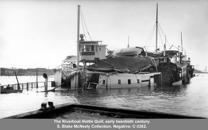 The Riverboat Nettie Quill, early twentieth century
