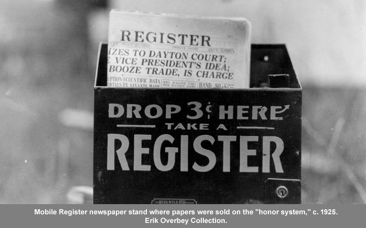 Mobile Register newspaper